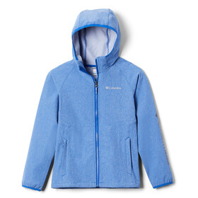 Columbia Rocky Range Giacca soft shell Ragazzo, azul heather/azul